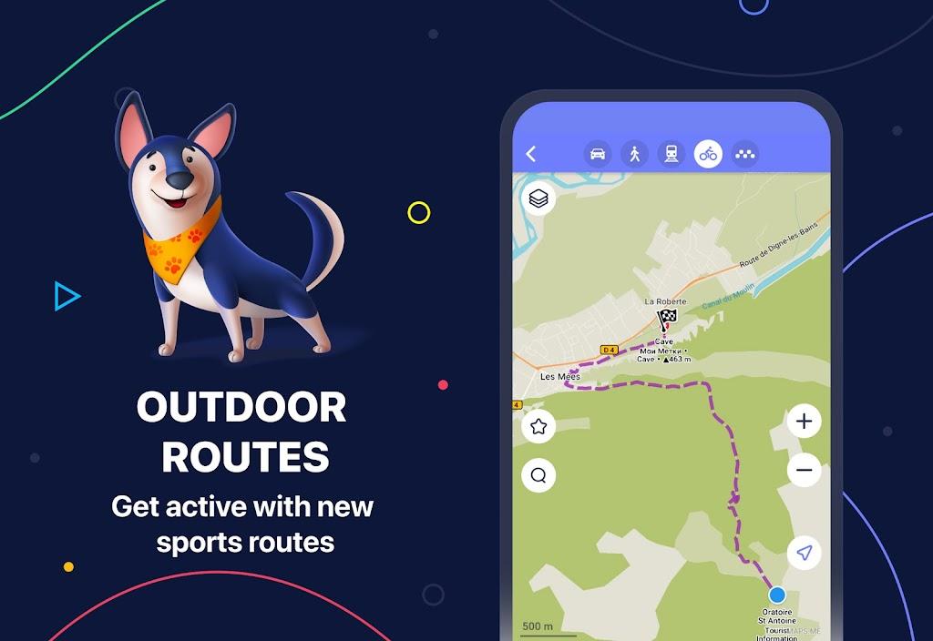 MAPS.ME – Offline maps, travel guides & navigation  poster 1