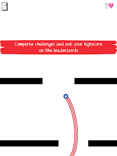 Dodgy Liner - Draw a line, dodge the walls!
