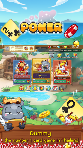 Dummy & Toon Poker Texas slot Online Card Game  Screenshots 17