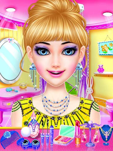 dress up girls game : stylist - fashion salon screenshot 1