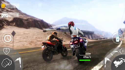 Highway Death Moto- New Bike Attack Race Game 3D  screenshots 6