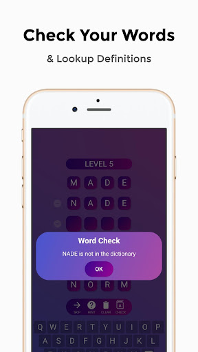 Word Ladders - Cool Words Game, Solve Word Puzzle screenshots 2