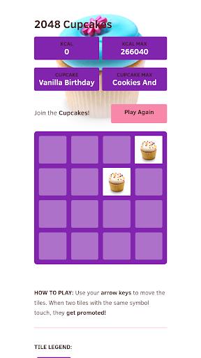 cupcake 2048 7.0 screenshots 1