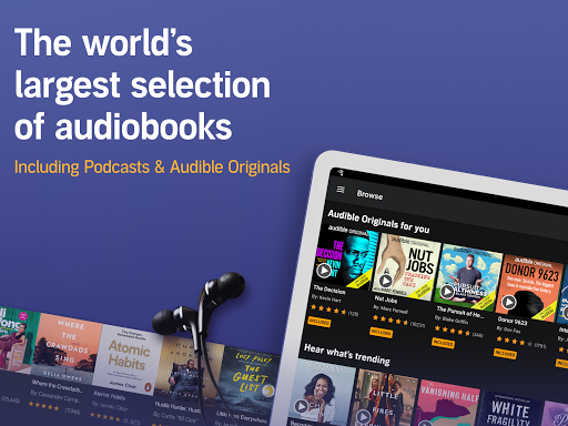 Audible: audiobooks, podcasts & audio stories android2mod screenshots 13