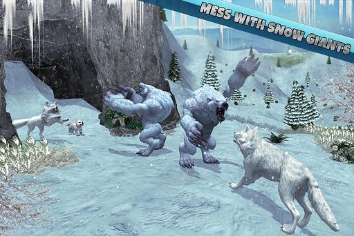 Arctic Wolf Family Simulator: Wildlife Animal Game 2.2 screenshots 2