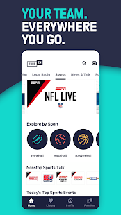 TuneIn Radio: Live News, Sports & Music Stations Screenshot