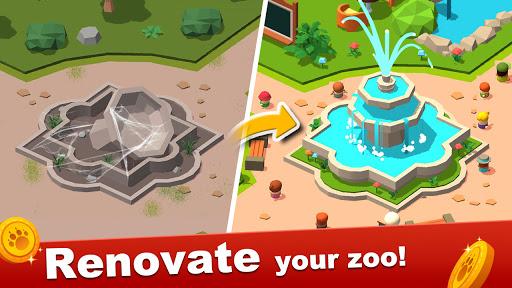 Zoo Tiles:Animal Park Planner modiapk screenshots 1
