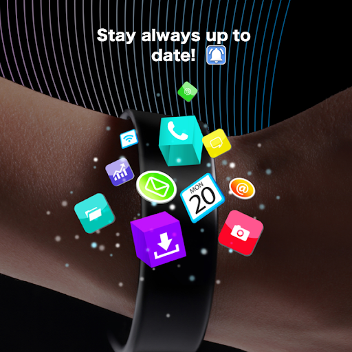SmartWatch sync app for android&Bluetooth notifier  Screenshots 20