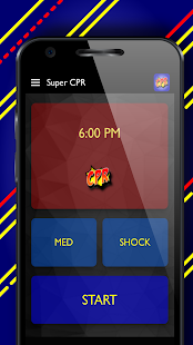 Super CPR: CPR Metronome and Time Tracker