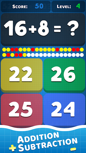 Math problems: mental arithmetic game modavailable screenshots 7