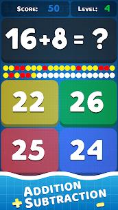 Math problems: mental arithmetic game 7