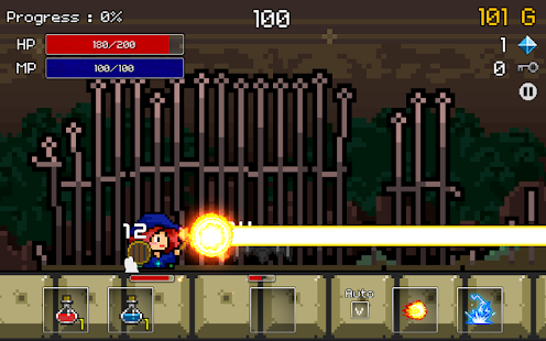 Buff Knight Advanced - Retro RPG Runner Screenshot