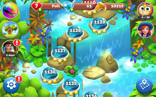 Gemmy Lands: Gems and New Match 3 Jewels Games apkslow screenshots 21