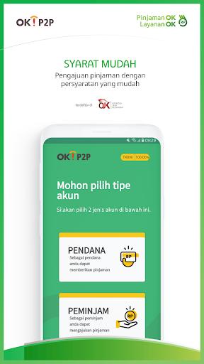 OK!P2P – Pinjaman ok  Layanan ok