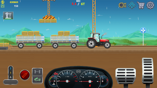 Trucker Real Wheels - Simulator apkdebit screenshots 6