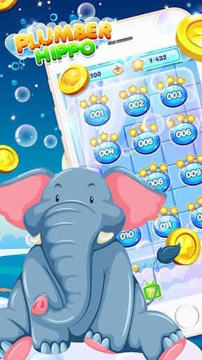 Bathe Hippo - Connect Pipes  screenshots 7