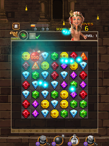 Jewel Ancient: find treasure in Pyramid 2.6.2 screenshots 16