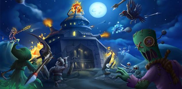 spooky wars - battle castle defense strategy game hack