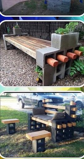 cinder block bench  Screenshots 4