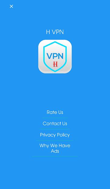 H VPN screenshot 1