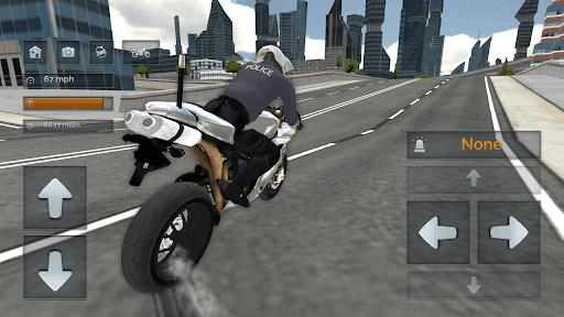 Police Motorbike Simulator 3D screenshots 13