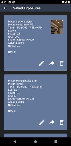 Light Meter - Free modavailable screenshots 6