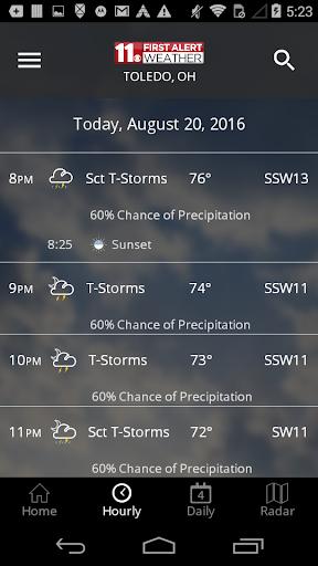 WTOL First Alert Weather 5.1.200 Screenshots 3