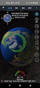 Aurora Forecast 3D 7.6 Screenshots 1