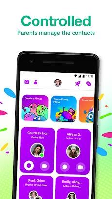 Messenger Kids – The Messaging App for Kidsのおすすめ画像2