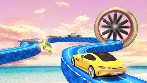 Mega Ramp Car Stunts Racing : Impossible Tracks 3D screenshots 19