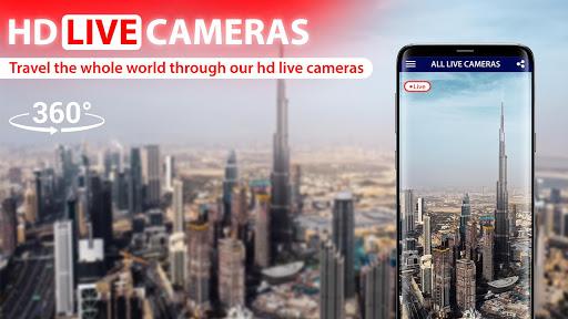 World Live Earth Web Cam - All Live Cam Earth Map 2.2 Screenshots 3
