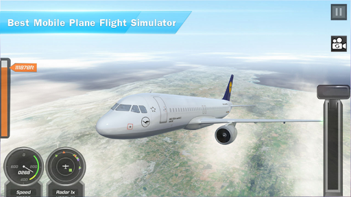 Airplane Games 2021: Aircraft Flying 3d Simulator 2.1.1 screenshots 10