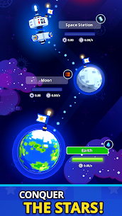 Rocket Star MOD APK- Idle Space Factory Tycoon (Unlimited Star Coins) 5