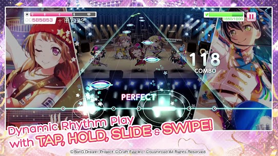 BanG Dream Girls Band Party MOD (God Mode/Mod Menu) 2