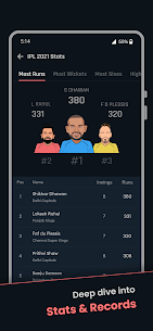 Cricket Exchange – Live Score & Analysis (MOD APK, Premium) v21.08.03 4