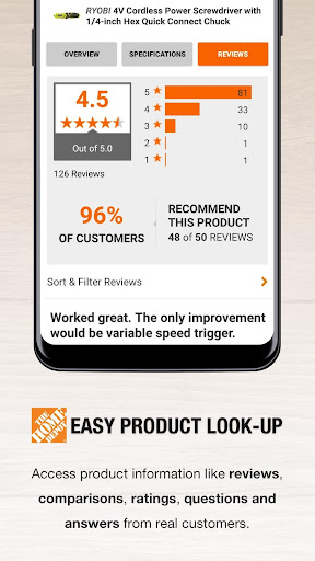 The Home Depot Canada modavailable screenshots 4