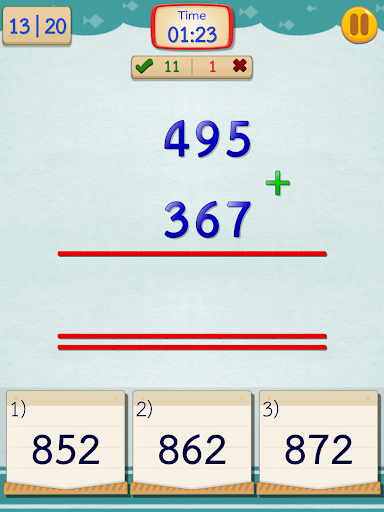 Math Fast Plus and Minus screenshots 10