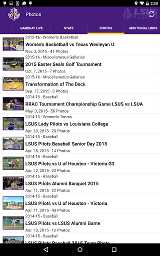 LSU Shreveport Athletics For PC Windows (7, 8, 10, 10X) & Mac Computer Image Number- 19