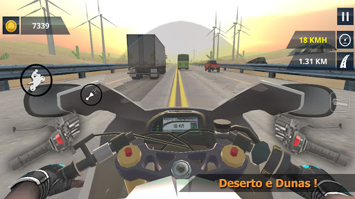 Bike wheelie Simulator - MGB  screenshots 11