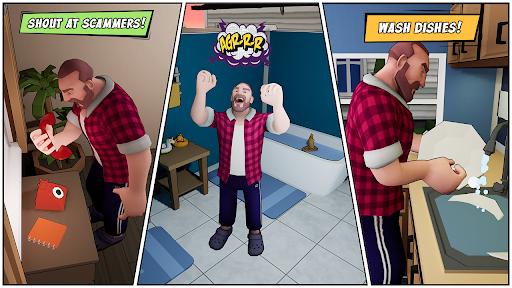 Angry Dad: Arcade Simulator Game  screenshots 2