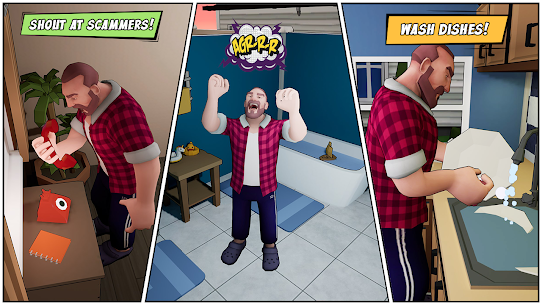 Angry Dad  Arcade Simulator Game Apk 2021 4