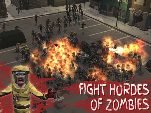 Overrun: Zombie Horde Apocalypse Survival TD Game apkpoly screenshots 9