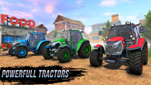 New Tractor Farming 2021: Free Farming Games 2021 apklade screenshots 1