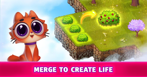 Merge Cats : Land of Adventures apklade screenshots 1