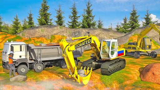 Heavy Excavator Simulator:Sand Truck Driving Game  screenshots 2