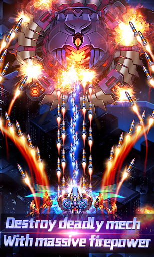 Thunder Assault: Raiden Striker apkdebit screenshots 4