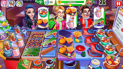 Christmas Fever : Cooking Games Madness modavailable screenshots 15