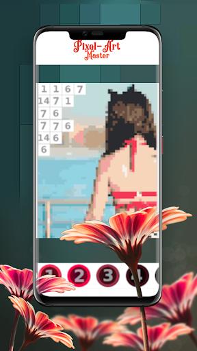 Pixel Art Master, coloring fun apkpoly screenshots 2