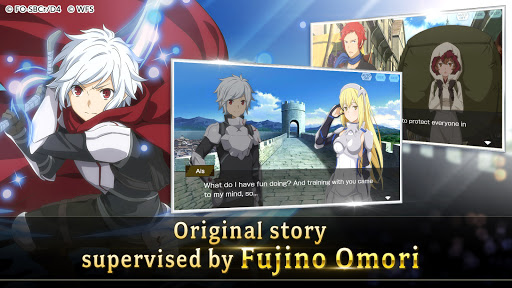 Download DanMachi - MEMORIA FREESE mod apk 1