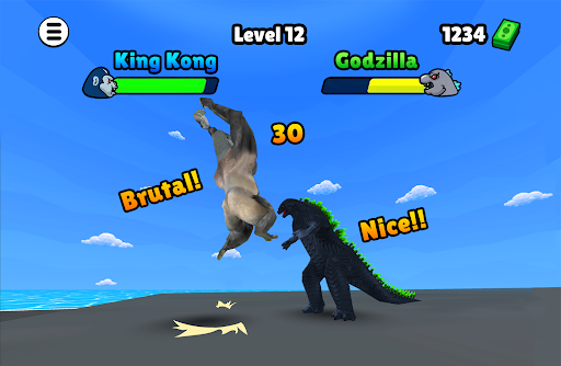 Godzilla vs Kong: Epic Kaiju Brawl 1.0.7 screenshots 1